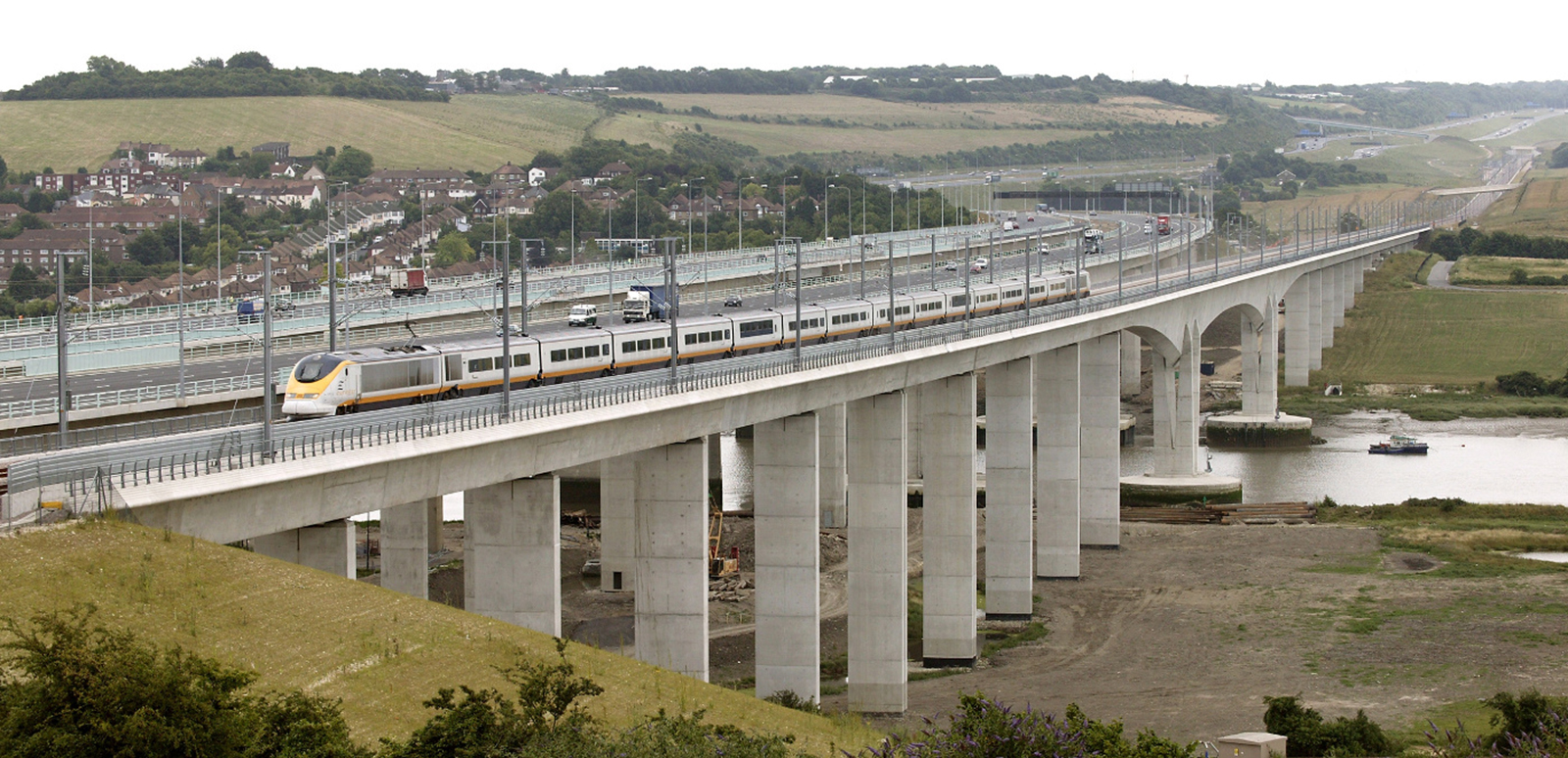 HS1 - London to the Channel Tunnel