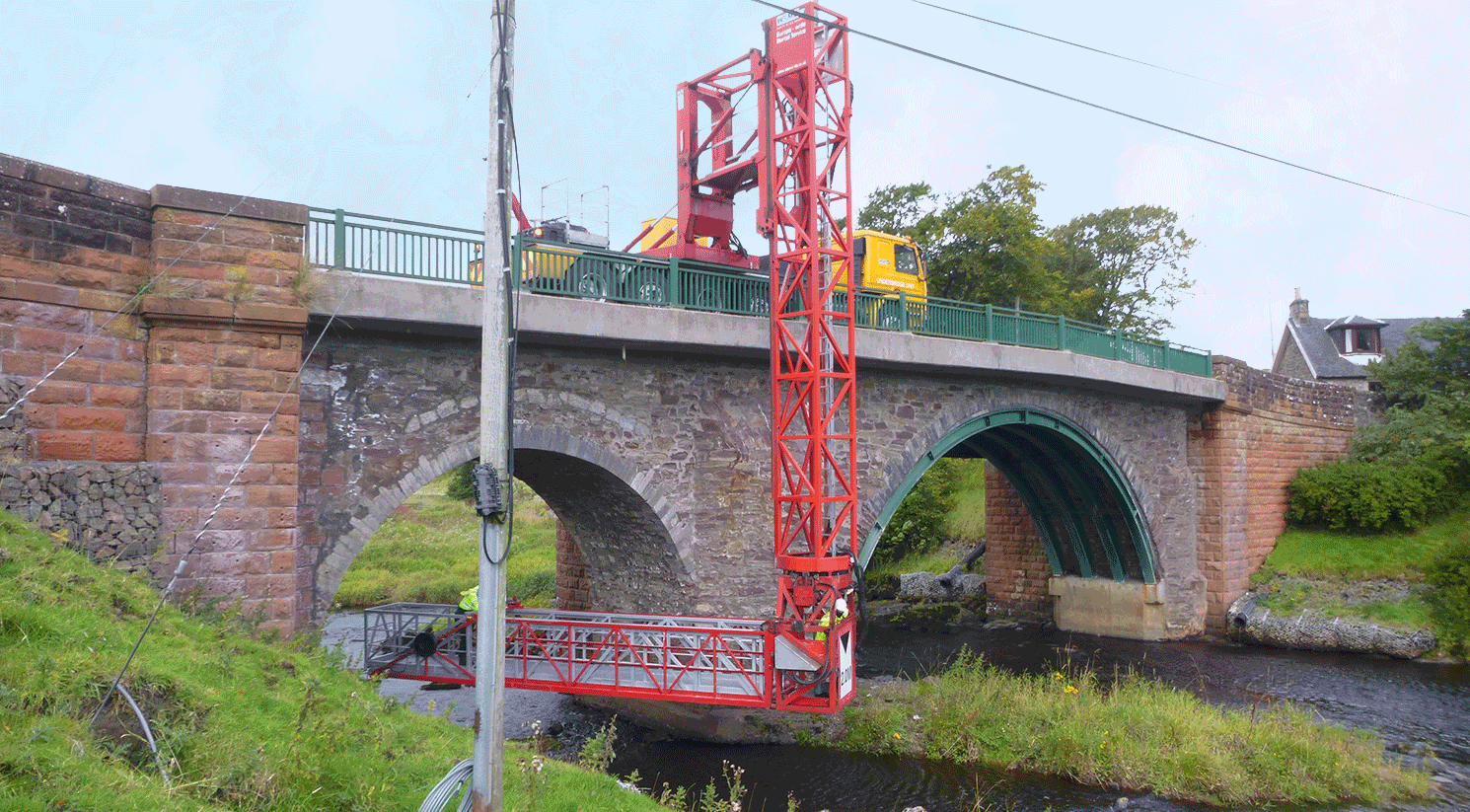South Lanarkshire Council Difficult Access Bridge Inspections