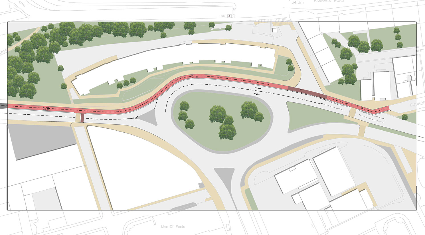 Dundee Northern Links Cycle Infrastructure Design