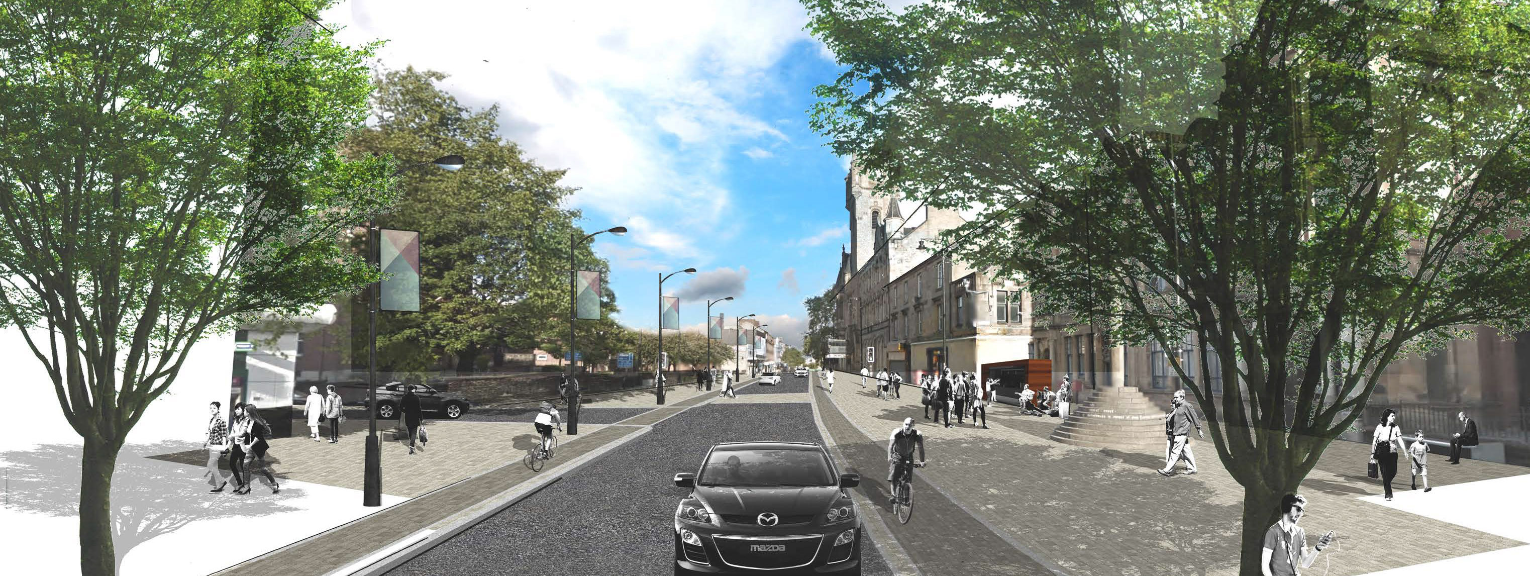 Cambuslang and Rutherglen Street Redesign